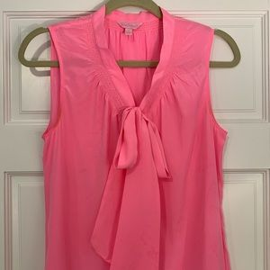Lilly Pulitzer Hot Pink Sleeveless Top